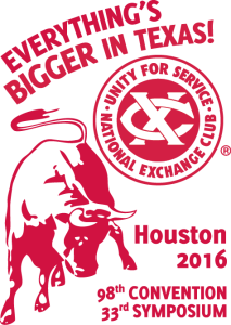 Everything's Bigger In Texas Convention 2016 red logo