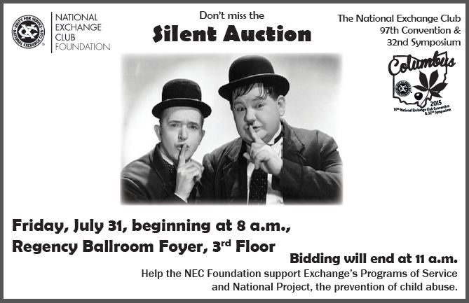 Silent Auction Flyer
