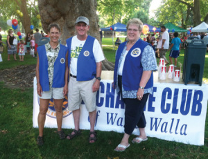 Walla Walla club members