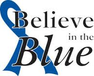 Believe in the Blue logo