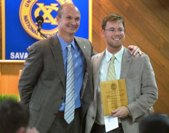 Jan 16 Savannah GA teacher honored