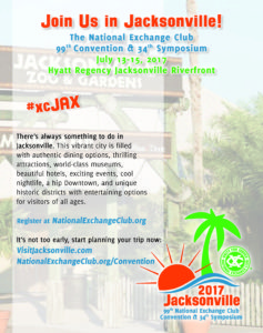 2017 Jax Convention Announcement Flyer