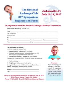 Symposium Registration Form 2017